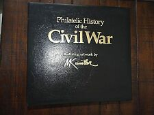 Philatelic History of the Civil War Complete 96 Stamp Collection