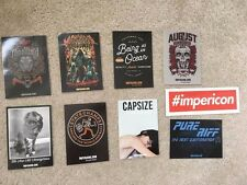 Impericon Skateboard Stickers Bands Rock Pop Punk Music