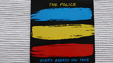 "The Police Every Breath You Take (Rare/Near Mint) 1983 UK 7"" Picture Sleeve A1"