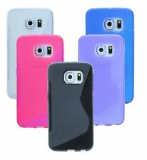 Gel Custodia protettiva in silicone custodia Accessori per Samsung Galaxy S6