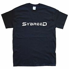 sybreed Camiseta Tallas S M L Xl Xxl Colores Negro, blanco