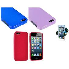 Glitter Sparkly Shiny Bling TPU Case Cover+Windshield Mount for iPhone 5 5S