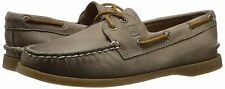 SPERRY TOP-SIDER women's A/O Weather Worn GREIGE BOAT SHOE Leather Slip-On 9 M