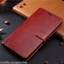 Vintage Leather Diary Stand Wallet Flip Back Cover Case for Huawei Honor 6x