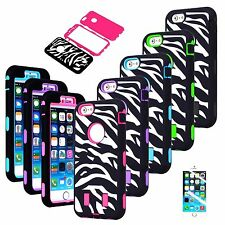 Shockproof Heavy Duty Rugged Amor Hard Soft Case Cover Skin For iPhone 6 6S