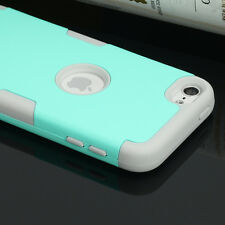 For Apple iPod Touch 5 6th Generation Hybrid Protective Silicon Hard Cover