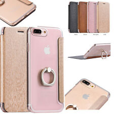 Luxury Flip Leather Ultra Thin Slim Stand Case Cover For Apple iPhone 7 7 P