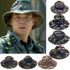 SUMMER UV Boonie Hat Military Army Camo Hunting Camping Bucket Hat Cap Men Women