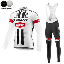 Ropa de ciclismo Giant 2 Invierno termica thermal cycling winter fleece maglie