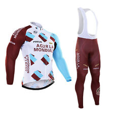 Ropa ciclismo entretiempo: AG2R Mondiale tour set maillot cycling otoño pants
