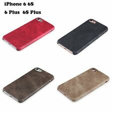 Men's Classic Slim Soft PU Leather Business Phone Case for iPhone 6 6S Plus