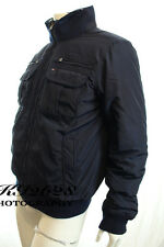 BNWT TOMMY HILFIGER MENS NAVY JACKET FUR LINED COLLAR KEN BOMBER COAT RRP £190