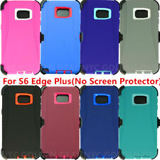 For Samsung Galaxy S6 Edge+ Plus Defender Case Cover W/Belt Clip&Holster(NP