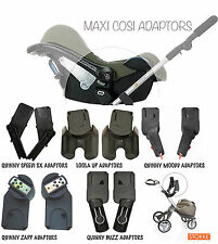 NEW MAXI COSI CAR SEAT ADAPTERS FIT LOOLA STREETY QUINNY STOKKE BUGABOO PHIL TED