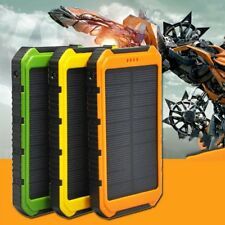 18000mAh Solar Panel 2A 1A Battery Power Bank External Portable Phone Charger LC