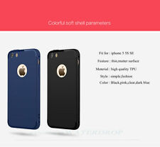 Soft Silicone Ultra Thin Shockproof Slim Matte Back Cover Case Fr iPhone 5 5s SE