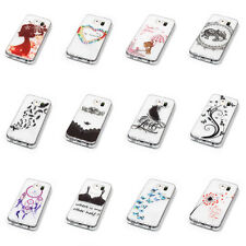 Soft Ultra thin Skin Transparent TPU Back Case Cover For Samsung &iPhone