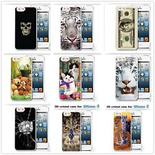 Pattern 3D Painted TPU Soft Protective Case Cover For Apple iPhone