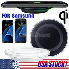 USA Qi Wireless Charging Charger Dock Pad For Samsung Galaxy S7/ S6 Edge/No