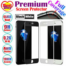 Fully Covered Premium Tempered Glass Screen Protector For iPhone 7 6S 6 & P