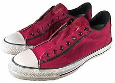 Converse John Varvatos Vintage Canvas Chuck Taylor Slip on Sneaker RED 1539