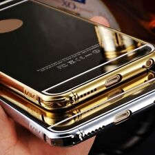 Luxury Aluminum Ultra-thin Mirror Metal Case for iPhone 6/ 6 Plus FREE GIFT