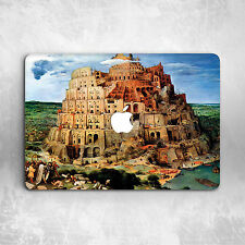 Art Babylonian Tower Hard Cover Case For Macbook Pro Retina Air 11 12 13 15