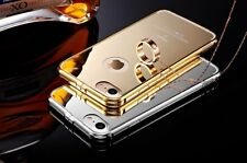 Luxury Aluminum Ultra-Thin Mirror Metal Case Cover iPhone 5 5s 6 6 Plus 7 7