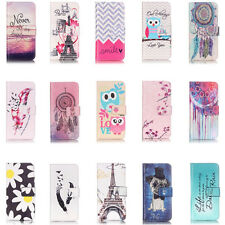 Luxury Pattern Flip Stand Magnetic Wallet Leather Case Cover for iPhone 7 P