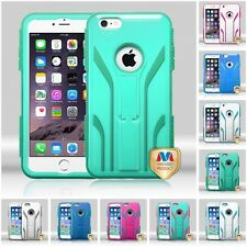 For iPhone 6/6S PLUS 4.7 5.5 TUFF Extreme Kickstand Rugged IMPACT Case