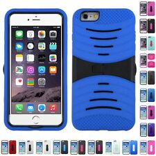 For iPhone 6/6S Plus 4.7 5.5 Kickstand Case Heavy Duty Hard Soft Case Cover