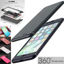 Ultra Thin Hybrid Tempered Glass 360° Full Case Cover For Apple iPhone 6S/