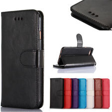 Leather Magnetic Wallet Card Slot Case Cover For iPhone/Samsung/Huawei Mode