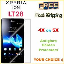 Sony Xperia ION Lt28 4 5 Clear Screen Protector Film Pre-cut FREE Fast Ship
