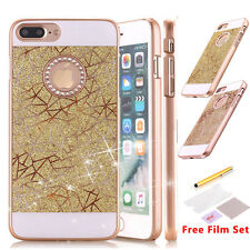 Luxury Slim Glossy Glitter Crystal Hard Case Cover For Apple iPhone 7/7 Plu