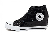 CONVERSE ALL STAR CHUCK TAYLOR CTAS MID LUX SEQUINS BLACK 556782C