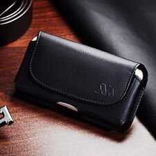 Black Universal Protective Pouch Case Clip Holster Belt Loops for Cell Phon