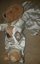 Rare Vermont Teddy Bear 1993 Elvis With Cape and Rhinestones