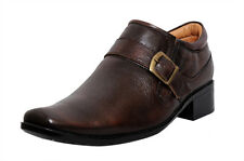 Zoom Mens Shoes Genuine Leather Shoes And Formal Shoes G-31-Brown Shoes -