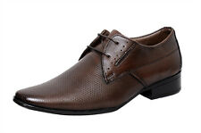 Zoom Shoes For Mens Boots Genuine Leather Shoes & Formal Shoes S-7653 Brown Shoe