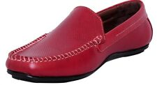 Zoom Shoes For Mens loafer In Genuine Leather Formal Loafer Shoes T-11-Cherry