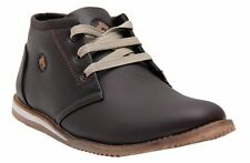 Black Tiger Shoes For Mens Synthetic Leather Shoes & Formal Shoes 098-Brown