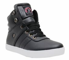 Black Tiger Shoes For Mens Boot Synthetic Leather Casual Shoes 072-Black