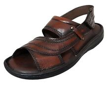 Zoom Shoes Buy Mens Sandal Genuine Leather Sandal D-021-Brown Sandal