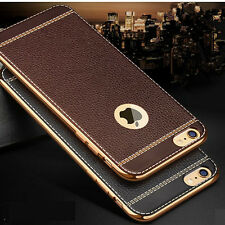 """*SOFT LEATHER TPU * Protective Back cover case for * APPLE IPHONE 6 / 6S (4.7"""")*"""