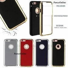 [Neo Hybrid] Luxury Slim Shockproof Bumper Case TPU Cover For Apple iPhone