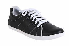 Quarks Black Casual Sneakers For Men (Q1060BK)