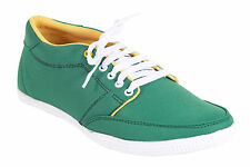 Quarks Canvas Green Sneakers Shoes For Men (Q1057GN)