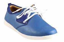 Quarks Blue Casual Lace Up For Men (Q1076BL)