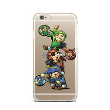 Cute Game Legend Of Zelda  Silicone Rubber Gel Case For IPhone 4S 5S 6S 7+
